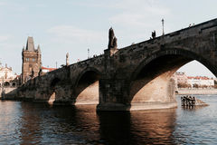 Мост St Charlies Стоковое Изображение RF