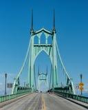 Мост St. John стоковое изображение rf