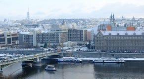 Мост Stefanik Стоковая Фотография RF