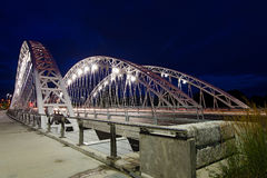 Мост Strandherd-Армстронга в Оттаве Стоковая Фотография RF
