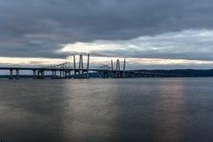 Мост Tappan Zee - Нью-Йорк стоковое изображение rf