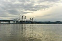 Мост Tappan Zee - Нью-Йорк стоковые фотографии rf