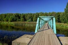 Мост Teal стоковые изображения