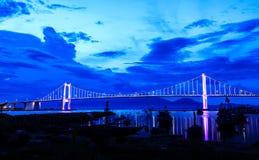 Мост Thuan Phuoc, Da Nang, Вьетнам Стоковое фото RF