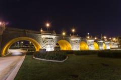 Мост Toledo Стоковое Изображение RF