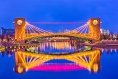 Мост Toyama Японии стоковое изображение