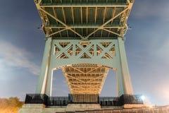 Мост Triboro/RFK в Нью-Йорке Стоковые Изображения
