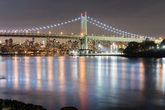 Мост Triboro/RFK в Нью-Йорке Стоковые Изображения RF