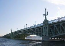 мост troitsky Стоковое фото RF