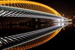 Мост Troja в Праге Стоковые Изображения