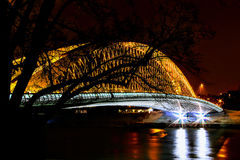 Мост Troja Стоковое Фото