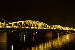 Мост Truong Tien Стоковые Фотографии RF