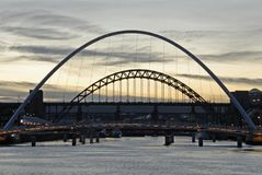 мост tyne Стоковая Фотография RF