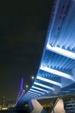 мост underneath Стоковая Фотография