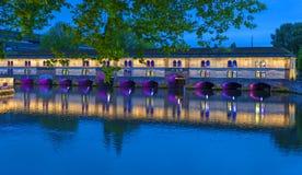Мост Vauban заграждения Стоковое Изображение