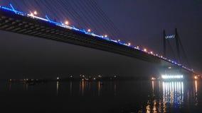 Мост Vidya Sagar стоковое фото rf