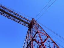 Мост Vizcaya в Portugalete Стоковое фото RF