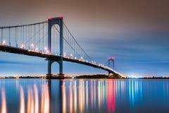 Мост Whitestone стоковое изображение rf