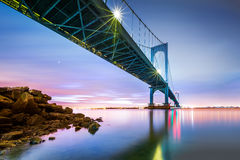 Мост Whitestone стоковая фотография rf