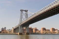 Мост Williams, Нью-Йорк стоковые изображения rf