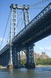 мост williamsburg Стоковое Фото