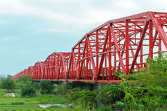 Мост Xiluo в Yunlin, Тайване Стоковая Фотография RF