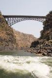 мост zambezi стоковое изображение