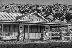 Мотель Panamints на Death Valley - BEATTY, США - 29-ОЕ МАРТА 2019 стоковые фотографии rf