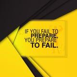 Мотивационная цитата спортзала Стоковое Изображение RF
