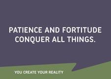 Мотивационная цитата Стоковое фото RF