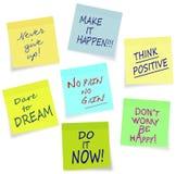 Мотивационные лозунги - дело, частное, lifestyl бесплатная иллюстрация