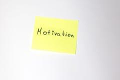 Мотивационный пост-оно Стоковые Изображения RF