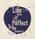 Мотивационный плакат с цитатой Стоковое Фото