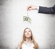 Мотивировка деньгами Стоковые Изображения RF