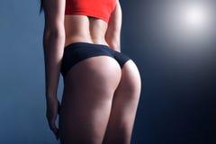 Мотивировка фитнеса женщин Стоковые Фотографии RF
