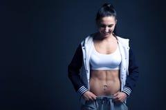 Мотивировка фитнеса женщин Стоковая Фотография