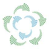 мотивы поставленные точки стрелкой иллюстрация вектора
