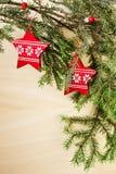 мотивы рождества Стоковые Изображения RF