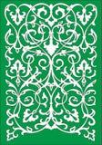 Мотив цветочного узора вектора исламский Стоковое Фото
