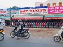 мотовелосипеды Вьетнам Стоковая Фотография