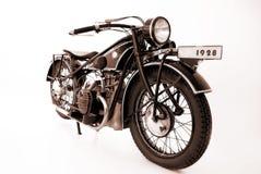 мотовелосипеды старые Стоковая Фотография RF