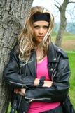 мотовелосипед предназначенный для подростков Стоковое Изображение RF