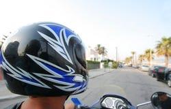 мотовелосипед человека Стоковое фото RF