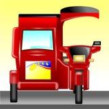 Моторизованный трицикл Филиппины иллюстрация штока