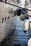 Моторка в середине открытого моря Лаке Таюое, Калифорнии, Соединенных Штатов Стоковые Фотографии RF