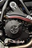 Мотор двигателя мотоцикла Стоковая Фотография