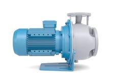 Мотор водяной помпы иллюстрация штока