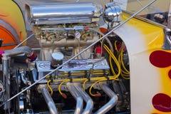 Мотор высокой эффективности Dragster Стоковое фото RF