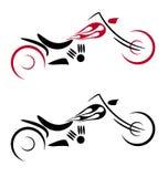 мотор логоса пожара цикла Стоковые Изображения RF