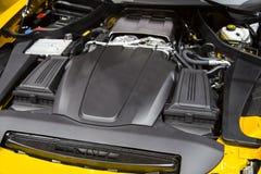 Мотор спортивной машины Стоковое Изображение RF